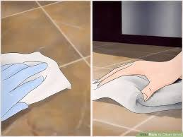 Cleaning Grout Lines 4 Ways To Clean Grout Wikihow