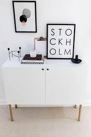 ikea besta hack scandinavian sideboard cabinet tutorial by