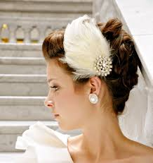 feather hair accessories 2 feather hair accessories for bridal weddings
