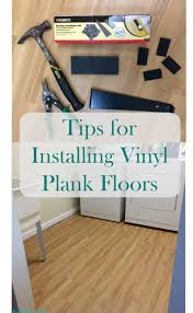 s realm tips for installing luxury plank vinyl flooring