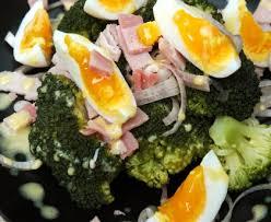 cuisiner le brocolis marmiton salade de brocolis au jambon recette de salade de brocolis au