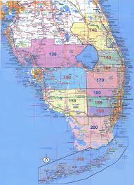 florida south area 10 al anon map of districts