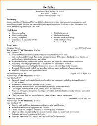 resume sheet metal workers eeo resume specialist letter samples