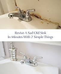 how to caulk a bathroom sink it s done our 170 bathroom makeover for granny sinks and house