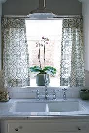 Kitchen Sink Window Treatments - rummy kitchen sink window curtains then kitchen sink window