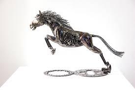 metal lion sculpture mari9art