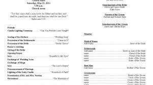 template for wedding ceremony program burial ceremony program resume template paasprovider