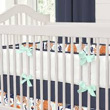 nursery beddings teal and pink crib bedding set in conjunction