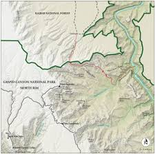 Map Of Grand Canyon Best Grand Canyon National Park Hike Trail Map National Geographic