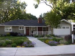 Single Story Ranch Homes Concerting Front Yard Landscaping Ideas For Ranch Style Homes