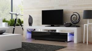 amazon com tv stand milano 200 modern led tv cabinet living