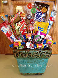 candy for birthdays 50th birthday candy basket and poem birthday candy 50th and