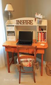chic home office desk wonderful shabby chic office cubicle decor tips for designing your