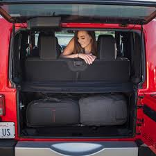 jeep wrangler backseat jeep wrangler jk cargo tonneau cover 100 cover versatile