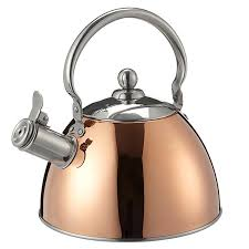 sainsburys kitchen collection sainsbury s cook s collection copper coated stove top kettle