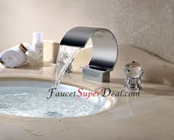 Stainless Steel Bathroom Faucets by Contemporary Stainless Steel Waterfall Bathroom Faucets