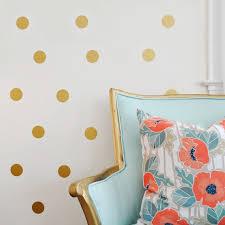 online shop gold polka dots spot diy vinyl wall decals wall