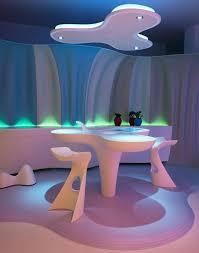 futuristic home interior table futuristic home interior design by karim rashid smart