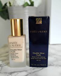 estee lauder double wear light review blog double wear water fresh makeup review uk wedding blog so
