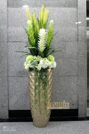 modern floor vase arrangements artificial flowers home decor