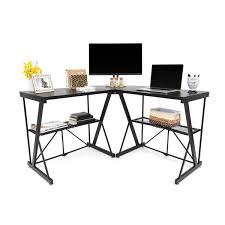 Desks Corner Corner Computer Desk Origami Rack
