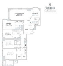 4 bedroom apartment nyc four seasons hotel 30 park place tribeca condos for sale