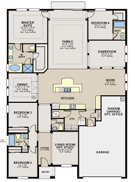 one story floor plans calatlantic introduces new one story floorplans in cypress bend