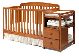 Baby Cribs With Changing Table Attached Luxury Cribs With Attached Changing Table Dresser Mini Crib With