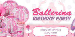 ballerina party supplies ballerina party supplies kids party supplies