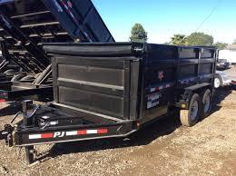 2018 14ft lamar trailers low pro dump trailer dl pj utility