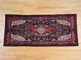 Wide Runner Rug 5 X11 1 Semi Antique Nahavand Knotted Wide Runner