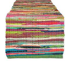 thanksgiving table runner pattern amazon com dii 100 cotton everyday machine washable chindi rag