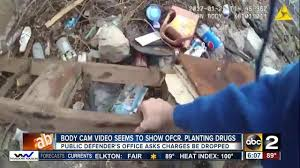 defender claims footage shows baltimore