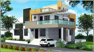 Triplex House Plans Pictures Duplex Bungalow Elevation Free Home Designs Photos