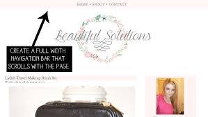 Sticky Top Bar Beautiful Solutions Blog Design How To Add A Full Width Sticky