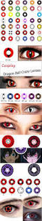 collection of crazy halloween contact lenses the coolest freaky