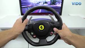 thrustmaster 458 review thrustmaster 458 italia racing wheel for pc xbox 360