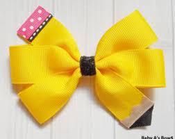back to school hair bows back to school hair bows back to school bows pencil bow