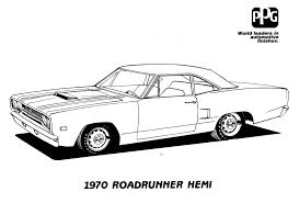muscle car coloring pages 26474 bestofcoloring com