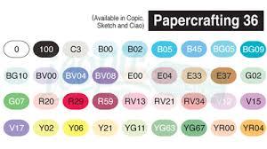 copic sketch marker 36 piece set a papercrafting 36a icopic com