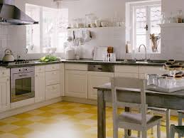Retro Kitchen Design Ideas Retro Kitchen Designs Beige Lacquer Finish Kitchen Cabinet Wooden
