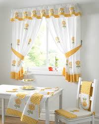 Pretty Kitchen Curtains by Curtain Yellow Striped Kitchen Curtains Awesome Make It Daring