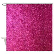 Lush Decor Ruffle Shower Curtain by Amazon Com Cafepress Pink Faux Glitter Decorative Fabric