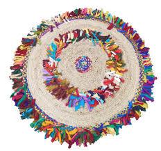 Colored Jute Rugs Woven Reversible Jute U0026 Cotton Multi Shags Braid Rug