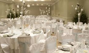 fabulous white and silver wedding reception silver wedding