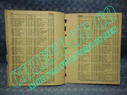 1940 1956 victor gasket id u0026 price list gm ford chrysler amc