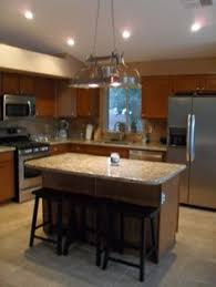 kitchen with island and breakfast bar the end of your kitchen island or breakfast bar are the two best