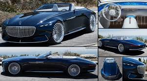 maybach 6 interior mercedes benz vision maybach 6 cabriolet concept 2017 pictures