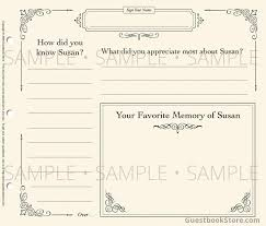 guest books for memorial service 9 best images of template funeral guest book funeral guest book