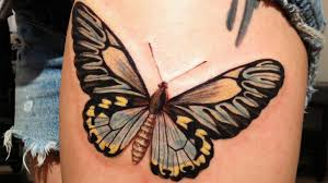 butterflies tattoos on leg butterfly tattoo designs on women insane tattoo products youtube